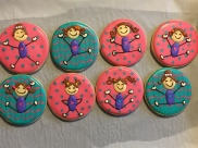 cute-gymnast-cookies-houston