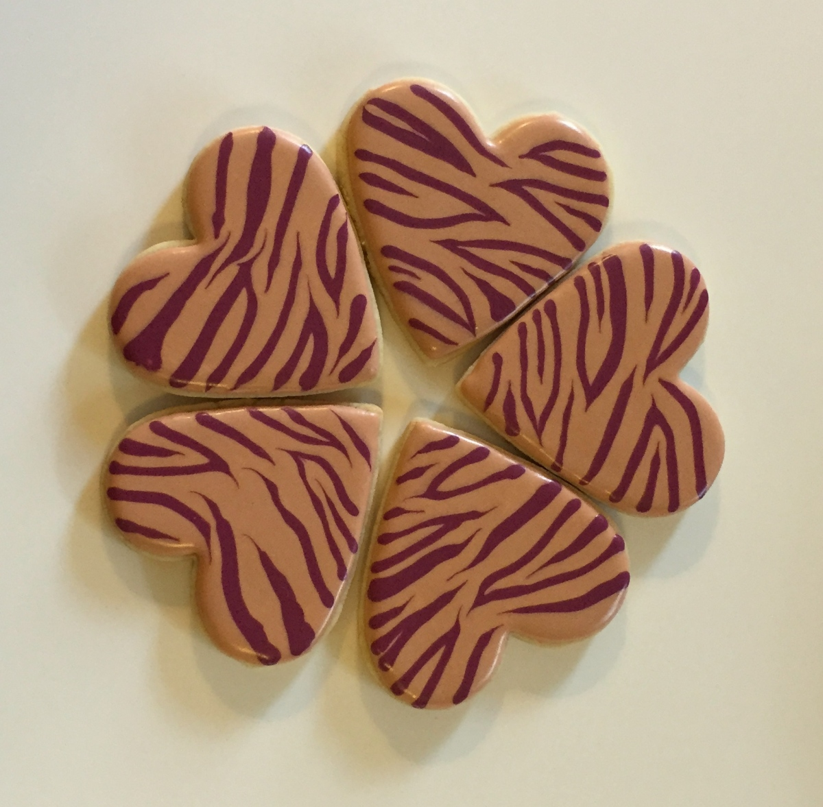 zebra-heart-cookies-houston