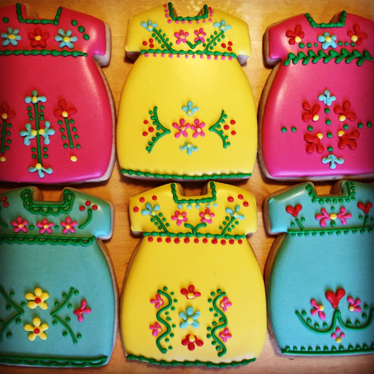 mexican-dress-cookies-houston