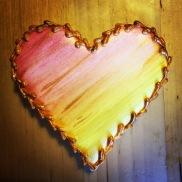 gildedwatercolorheart